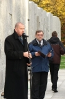 The presentation of the mutual memory monument, Wroclaw 2008