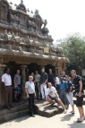 Stonemasons' trip to India, March 2011