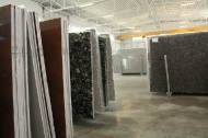 The opening of the stone world wholesaler's in Grzedy