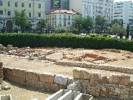 Athens Kotzia_square_antiquities_3