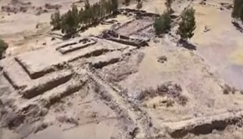ANCIENT PYRAMID DISCOVERED IN PERU